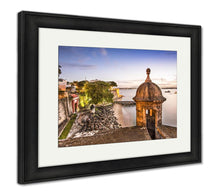Load image into Gallery viewer, Framed Print, San Juan Puerto Rico Coast