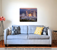 Load image into Gallery viewer, Metal Panel Print, Salt Lake City Utah At Night