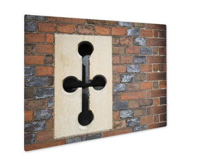 Metal Panel Print, Tudor Wall Ventilation