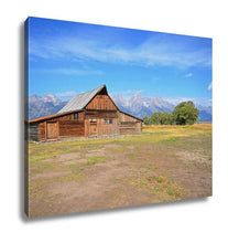 Load image into Gallery viewer, Gallery Wrapped Canvas, Grand Teton Barn