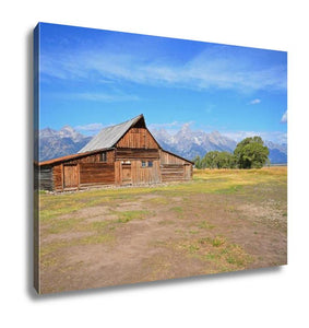 Gallery Wrapped Canvas, Grand Teton Barn