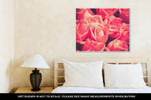 Load image into Gallery viewer, Gallery Wrapped Canvas, Flowers Rose With Filter Effect Retro Vintage Style