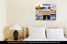 Load image into Gallery viewer, Metal Panel Print, Seven Wonders Of The Ancient World