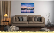 Load image into Gallery viewer, Gallery Wrapped Canvas, Savannah Georgia Riverfont Skyline