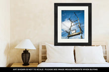 Load image into Gallery viewer, Framed Print, Electricity Post And The Transformer