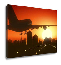 Load image into Gallery viewer, Gallery Wrapped Canvas, Albuquerque New Mexico USA America Skyline Sunrise Landing