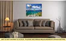 Load image into Gallery viewer, Gallery Wrapped Canvas, View From Hydra Island Castello Hydra And Kamini Beach Blue Sky