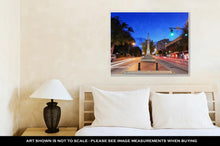Load image into Gallery viewer, Gallery Wrapped Canvas, Downtown Athens Georgia USA Cityscape