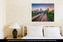Load image into Gallery viewer, Gallery Wrapped Canvas, Downtown Atlanta Georgia Skyline