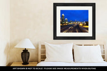 Load image into Gallery viewer, Framed Print, Atlanta Skyline By Night Georgia United States
