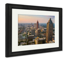 Load image into Gallery viewer, Framed Print, Skyline Of Downtown Atlanta Georgia