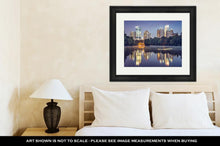 Load image into Gallery viewer, Framed Print, Atlanta Georgia USA At Piedmont Park