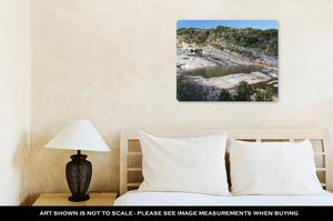 Metal Panel Print, Pedernales Falls State Park Hill Country Texas