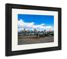 Load image into Gallery viewer, Framed Print, Federal Hill Park Overlooking Batimore City Maryland