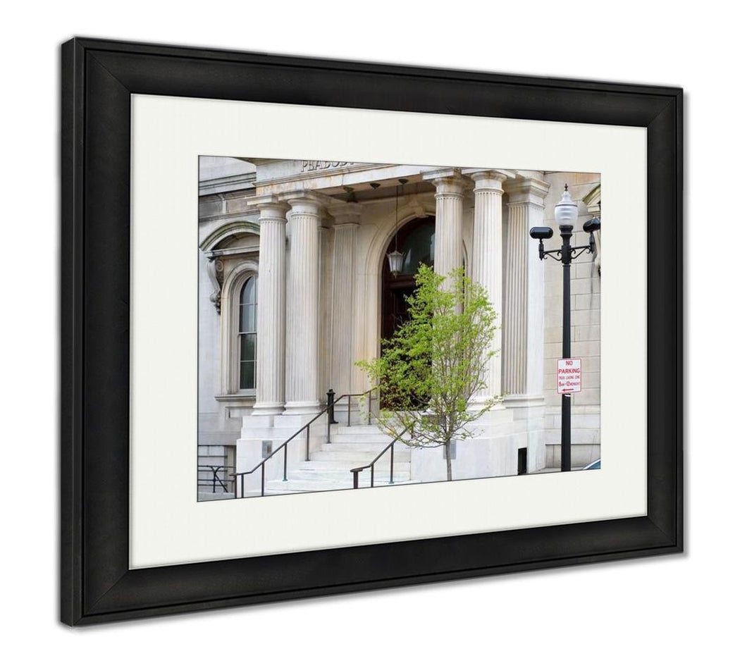 Framed Print, Peabody Institute