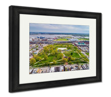 Load image into Gallery viewer, Framed Print, View Of Riverside Park In Baltimore Maryland