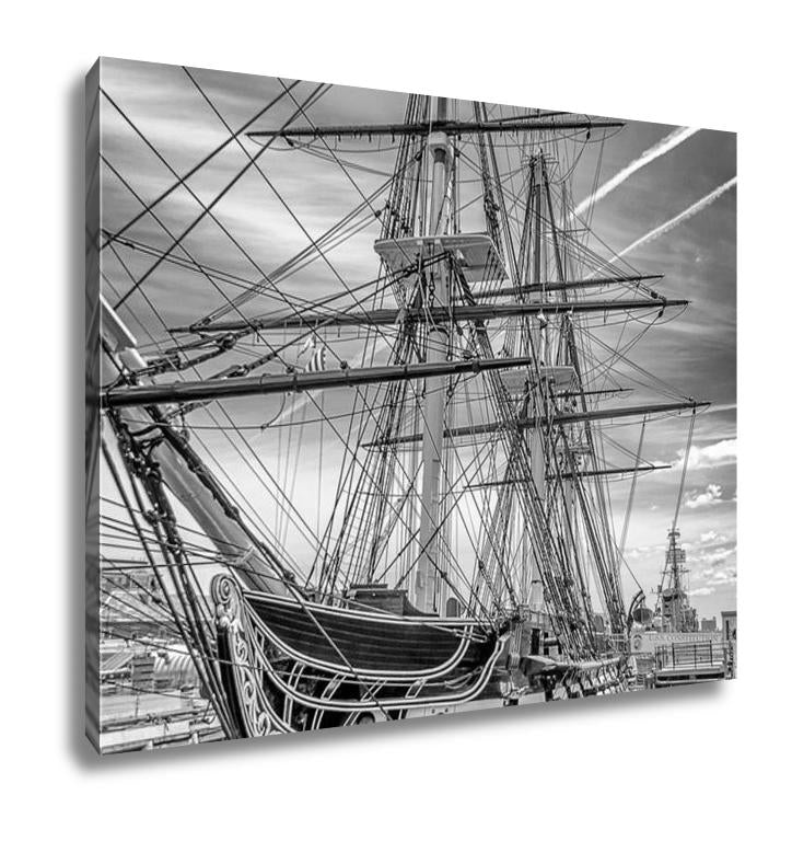 Gallery Wrapped Canvas, Uss Constitution Boston