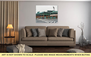 Gallery Wrapped Canvas, The Famous Fenway Park Stadium In Boston Boston Massachusetts April 3 2017