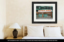 Load image into Gallery viewer, Framed Print, Fenway Park Boston Home Of The Boston Red Sox Boston Massachusetts April 3 2017