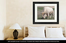 Load image into Gallery viewer, Framed Print, White American Bison