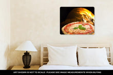 Load image into Gallery viewer, Metal Panel Print, Pizza In A Pizza Oven