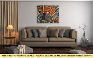 Gallery Wrapped Canvas, December 27 2014 Charlotte Nc USA Charlotte Skyline Near R