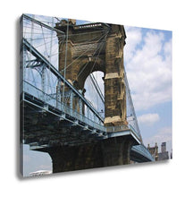 Load image into Gallery viewer, Gallery Wrapped Canvas, John A Roebling Bridge