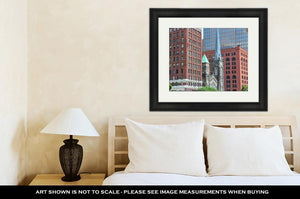 Framed Print, Cleveland Ohio