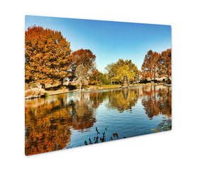 Metal Panel Print, Goodale Park Located In The Victorian Village Area Of Columbus Ohio Covers 32