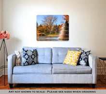 Load image into Gallery viewer, Metal Panel Print, Goodale Park Located In The Victorian Village Area Of Columbus Ohio Covers 32