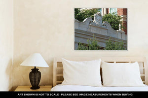 Gallery Wrapped Canvas, Old Parkland C 1894 Is The First Generation Of Parkland Hospital In Dallas