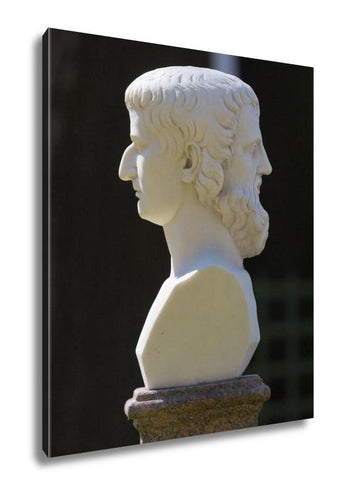 Gallery Wrapped Canvas, Sculpture Janus