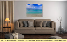 Load image into Gallery viewer, Gallery Wrapped Canvas, Beautiful Multicolor Turquoise Blue Tropical Sea Of Waikiki Beach Honolulu