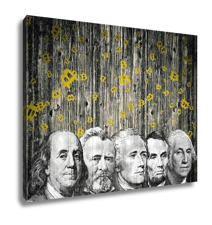 Gallery Wrapped Canvas, A Christmas Currency S
