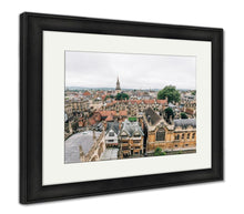 Load image into Gallery viewer, Framed Print, High Angle View Of Oxford