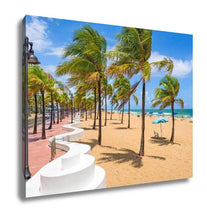 Load image into Gallery viewer, Gallery Wrapped Canvas, Fort Lauderdale Beach