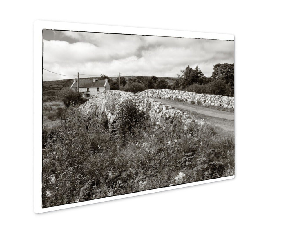 Metal Panel Print, The Quiet Man Bridge
