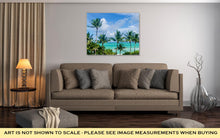 Load image into Gallery viewer, Gallery Wrapped Canvas, Palm Tree On The Miami Beach Florida USA