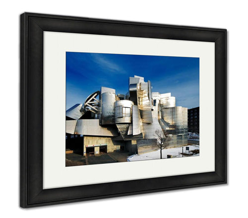 Framed Print, Weisman Art Museum University Of Minnesota In Minneapolis USA