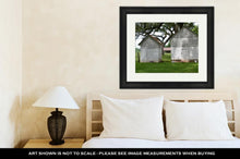 Load image into Gallery viewer, Framed Print, Old Dilapidated Building On A Plantation In Cane River Creole National