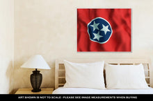 Load image into Gallery viewer, Gallery Wrapped Canvas, Tennessee State Flag