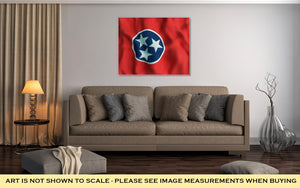 Gallery Wrapped Canvas, Tennessee State Flag