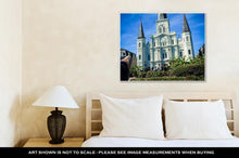 Load image into Gallery viewer, Gallery Wrapped Canvas, White Basillica In New Orleans In Jackson Square