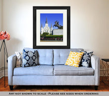 Load image into Gallery viewer, Framed Print, St Louis Cathedral