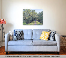 Load image into Gallery viewer, Metal Panel Print, Oak Alley Plantation Louisiana