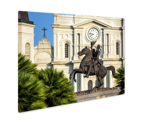 Metal Panel Print, St Louis Cathedral In The French Quarter New Orleans Louisian