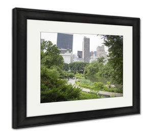 Framed Print, New York Central Park