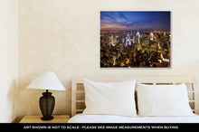 Load image into Gallery viewer, Gallery Wrapped Canvas, New York Skyline