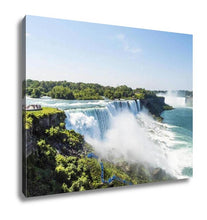 Load image into Gallery viewer, Gallery Wrapped Canvas, Niagara Falls Summer Day New York