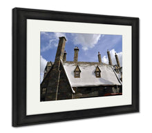 Load image into Gallery viewer, Framed Print, Universal Studios Resort Hogsmeade Village Rooftops